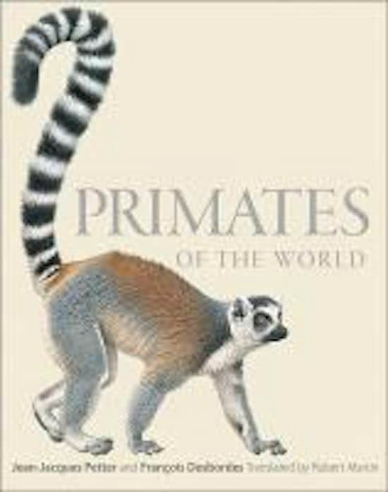 book-image-Primates of the World: An Illustrated Guide