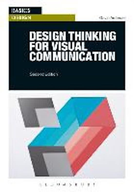 Study Notes For Communication And Multimedia Design At Hanzehogeschool Groningen Stuvia